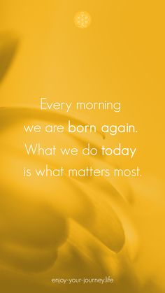 Chaque matin est une renaissance. Ce que nous ferons de ce nouveau jour, voilà qui est le plus important 🙂 Je vous souhaite une belle semaine, pleine de bonheur et je vous partage également ce poème, un sonnet, écrit en 1854 par Gérard de Nerval. C'est un très bel hommage à la nature, sa beauté, sa perfection, sa sagesse intrinsèque. Intuition, What Matters Most, Journey, Important, Renaissance, Words, Nature, Wisdom, New Day