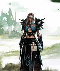 style guild wars in 2019 guild wars guild wars, medie Character Concept, Character Art, Character Design, Character Portraits, Fantasy Rpg, Medieval Fantasy, Fantasy Races, The Black Cauldron, Guild Wars 2