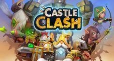 Castle Clash é um MMORTS multiplataforma que permite ao jogador construir um castelo e um exército para conquistar outros castelos.