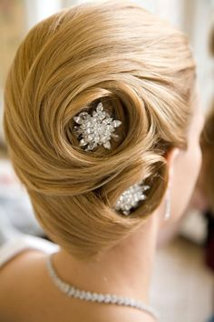 Wedding hairstyle updo