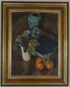 Konrad Kickert: Stilleven. Begin van het Nederlandse kubisme. Werd in Parijs geinspireerd door de kubisten, waaronder Picasso.