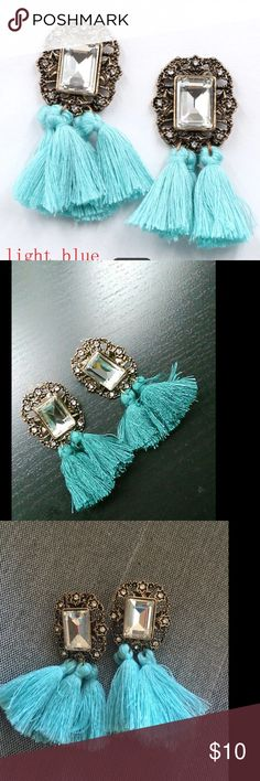 Earrings Vintage tassel statement bib stud earrings Jewelry Earrings