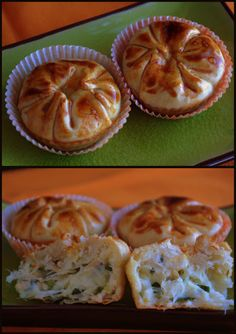 empadinhas de bacalhau Easy Cooking, Cooking Time, Cooking Recipes, Quiches, Empanadas, Brazillian Food, Portuguese Recipes, Portuguese Food, Salty Foods