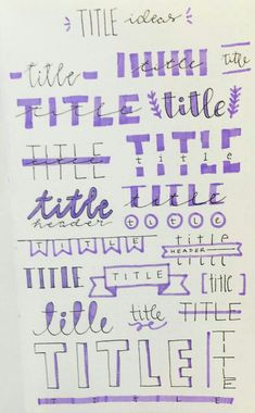 How To Start A Bullet Journal. The ultimate bullet journal guide for beginners! Learn how to set up your bullet journal planner, design a layout, and organize your life using a bullet journal! Includes page ideas for bullet journal spreads! Bullet Journal Book, Bullet Journal Headers, Bullet Journal Banner, Bullet Journal Aesthetic, Bullet Journal Ideas Pages, Bullet Journal Inspiration, Bullet Journal For Beginners, Bullet Journal Ideas Handwriting, Bullet Journal Hand Lettering