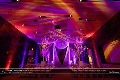 Wedding Uplighting at McNamara Alumni Center