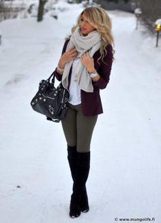 Winter fashion - Sakurasite.com