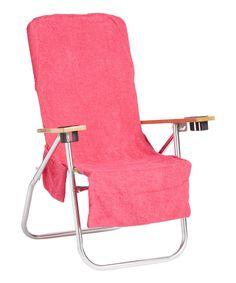Loving this Pink Beach Towel & Chair Cover Bag on Beach Cart, Beach Stores, Beach Boardwalk, Floor Chair, Towel, Backpacks, Pink, Bags, Furniture