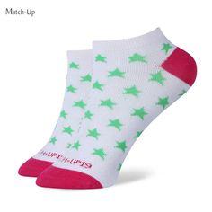 Girl SOCKS colorful combed cotton socks star pattern socks