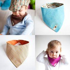 Baby Bib Pattern bandana bibs drool bibs by identitat on Etsy