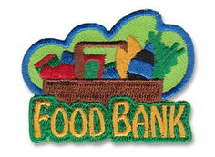 AHG Activity Patches: Food Bank Service Patch