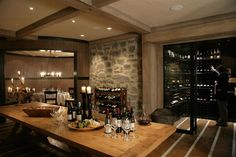#Wine Room Lodge at Cape KIdnappers in #Awanga, #NewZealand PC: Virtuoso, Cape Kidnappers