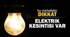 Pazar günü Uzunköprü'de Elektrik Yok. | T.C. Devriye Haber