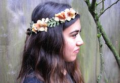 Flower headband--perfect for fairy costume