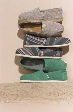 TOMS. I like the green ones :)