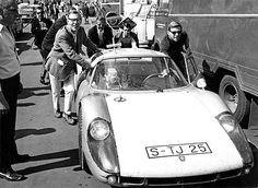 Live-Übertragung aus dem Cockpit vor 50 Jahren - Rainer Günzler im Porsche 904