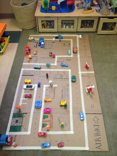 So much fun :]The post Homemade car mat! So vi . So much fun :] The post Homemade car mat! So much fun :] appeared first on WMN Diy. Toddler Learning Activities, Indoor Activities For Kids, Infant Activities, Preschool Activities, Toddler Play, Toddler Crafts, Diy For Kids, Crafts For Kids, Kids And Parenting