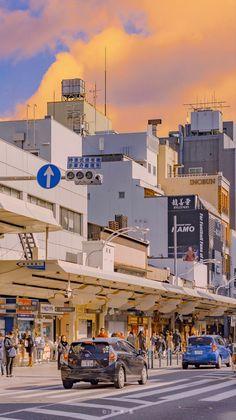 Urban Aesthetic, Aesthetic Japan, City Aesthetic, Cityscape Wallpaper, Scenery Wallpaper, Wallpaper Backgrounds, Aesthetic Backgrounds, Aesthetic Wallpapers, Scenery Background