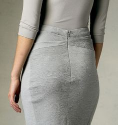 V1389- Donna Karan --- love the back detail on the skirt- not so much the front darts though