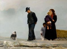 from Fb site Ireland of a Thousand Welcomes.  Martin Driscoll artist, The Decision