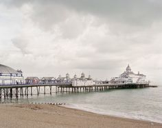 (PHOTO: Eastbourne Pier, 2011 © Simon Roberts, Courtesy Flowers Gallery) Britain's most iconic piers in pictures Eastbourne Pier British Beaches, British Seaside, Preston Uk, University Of Sheffield, World Photography, East Sussex, Daily Photo, Landscape Photographers, Great Britain