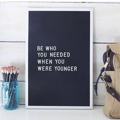 YES. Be who you needed when you were younger.