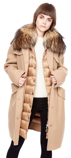 Baby, It's Cold Outside!! | #Fashion-ivabellini + #Localfashion | Pinterest  | Moncler, Rouge and Fur