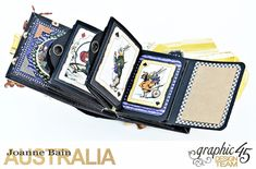 Mini-Tag-Album,-Halloween-In-Wonderland,-By-Joanne-Bain,-Product-by-Graphic-45,-Photo-12