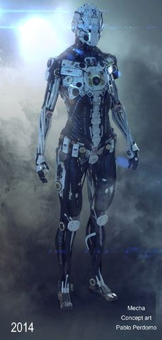 Showcase of 30 Stunning 3D Robot Characters