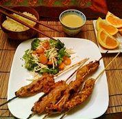 Vegetarian Thai Satay (Vegan): Vegetarian Thai Satay, photo by Rose Chilibeck of Ontario