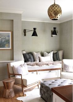 Mid-Century Lounge Chairs. Nicole Davis Interiors