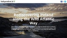 Rediscovering Ireland along the Wild Atlantic Way, Independent.ie