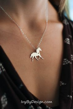 Jewelry for the horse lover personalized with your horses names salepersonalizedhorsenecklacehorselovergift negle Image collections