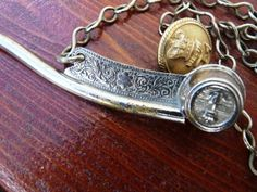 Solid Bosuns Whistle. Silver English Late 19th Century