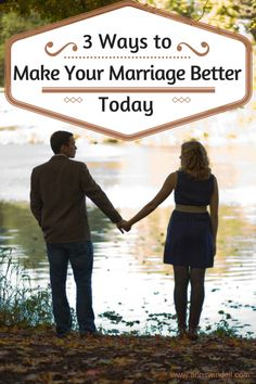 3 easy ways to strengthen our marriages--you can do all of them today! Written by a Christian wife and mom.
