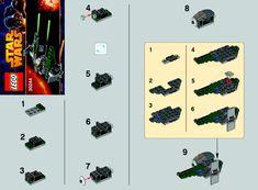 30244 part1_-_Star Wars - Anakin's Jedi Intercepter [Lego 30244]