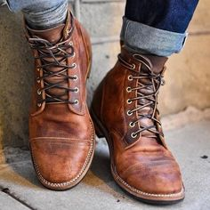 best sneakers cbafa cc503 Shoes - High Quality Mens Vintage British Style Martin Boots
