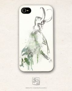 Iphone 4 / 4s hard or rubber case  LOKI the by FeerieDoll on Etsy, $15.75