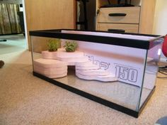 Do It Yourself: Naturalistic Fake Rock Enclosure | good for Smaug (bearded dragon) or Rex (gecko)