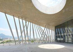 Christian de Portzamparc's Cidade das Artes adds curving concrete fins to the Rio skyline