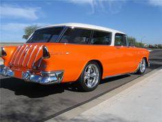 ´ 55 Chevy Nomad Bild - Auto Pixx 1955 Chevy, 1955 Chevrolet, Chevy Luv, Retro Cars, Vintage Cars, Vintage Paper, Beach Wagon, Chevy Nomad, Us Cars