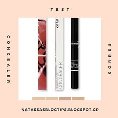 Natassa's blog tips: Consealer Korres δοκιμή Blog Tips, Concealer, Personal Care, Self Care, Personal Hygiene
