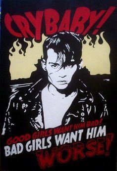 Johnny Depp; Cry Baby