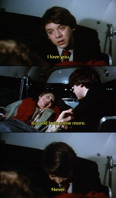 I love Harold and Maude.