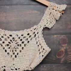 next morning crochet bralette - natural – shophearts