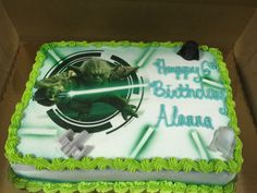 Family owned and operated, Cannon's Bakery has been serving the state of Delaware for over 30 years! Custom cakes for all occasions. Yoda Cake, Cake Servings, Custom Cakes, Birthday Cakes, Bakery, Pie, Cookies, Desserts, Food