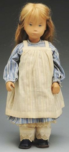 A studio Sasha doll by Sasha Morgenthaler, made in Switzerland by hand during the midcentury.