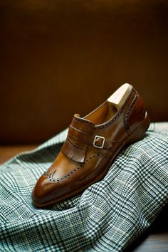ethandesu: Casual The model 545 Saint Crispin's Made to Measure