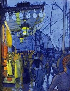 Paul Gauguin, Avenue de Clichy, Paris on ArtStack Paul Gauguin, Henri Matisse, Vincent Van Gogh, Van Gogh Pinturas, Arte Van Gogh, Impressionist Artists, Art Moderne, Fine Art, Claude Monet