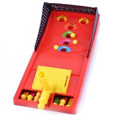 Projected Mini Shooting Ball Machine Desktop Games Toys For Kids Children Gift