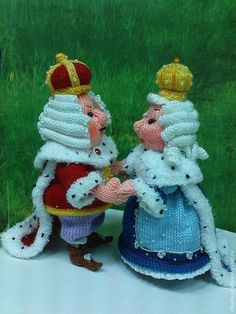 """Обучающие материалы ручной работы. Ярмарка Мастеров - ручная работа. Купить Мастер-классы  """"Король Луи II"""" и  Мастер-класс """"Королева Изабэлла"""". Handmade."""